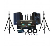 Studio Record-able PAX Karaoke + ITV Complete System 1400W power